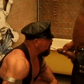 Black Muscle Cock