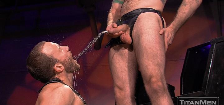 Gay pissing with Nick Prescott & Aleks Buldocek
