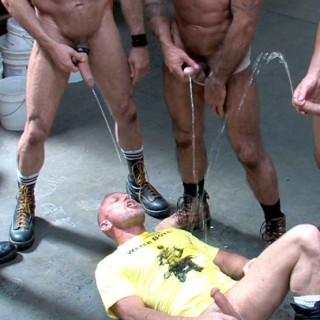 Pissing: Hard, Fisting: Raw