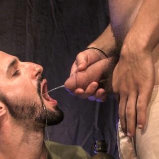 Piss Army, Scene 1 - Tommy Defendi, Steve Stavrou