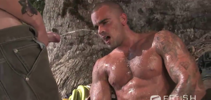 Drenched In Piss County: Damien Crosse and Kennedy Carter