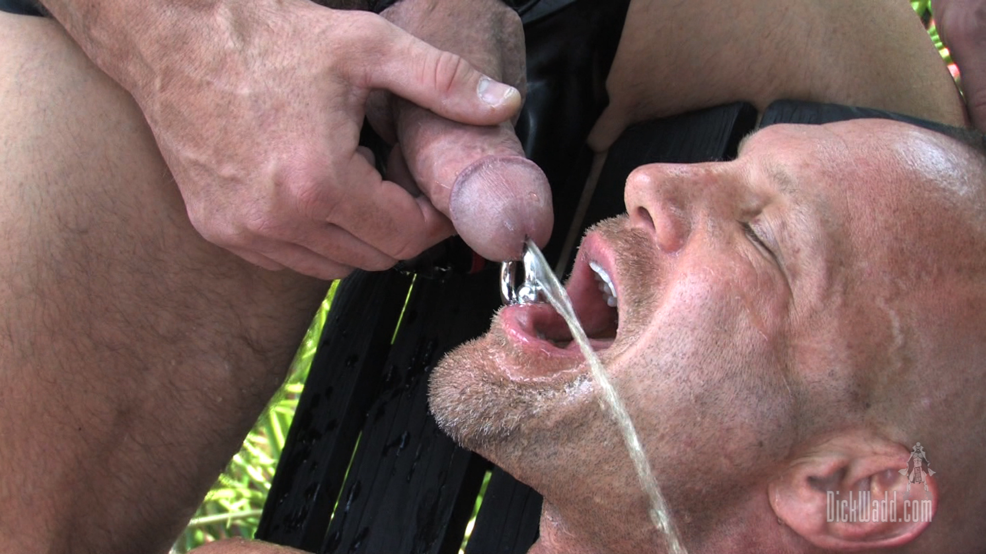 Free gay pissing porn and old hairy gay men pissing the youthful man