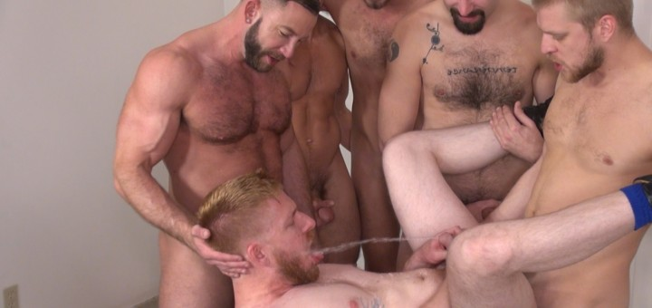 Another Bareback and Pissing Orgy