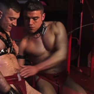 Pissing Guys: Luck Ass, Billy Baval and Jota Salaz 2