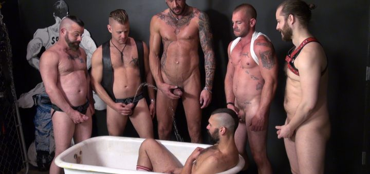Pounded in the Piss Tub