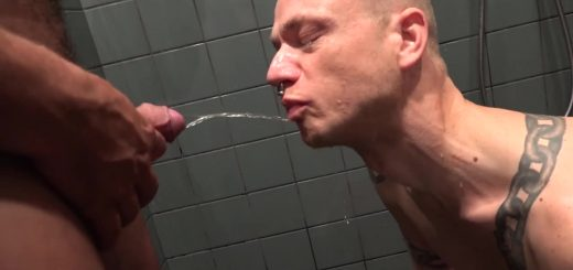 Pissing Guys: Delta Kobra and Ben Armstrong