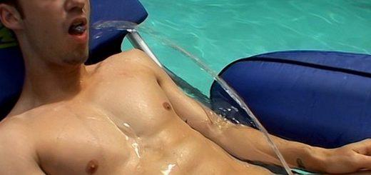 Kaleb Scott Pissing In The Pool