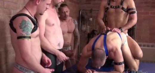 Piss & Cum Pigs Orgy