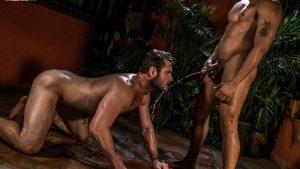 Pissing Guys: Ace Era and Alejandro Castillo