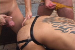 Bareback Piss Pigs: David and Marcelo 3