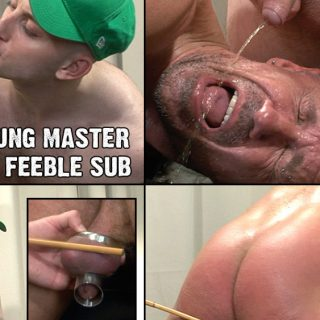 Master Max Pees In His Slave's Mouth 2
