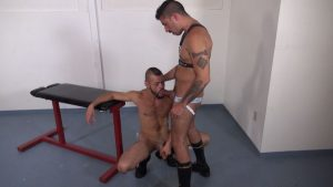 Pissing Guys: Sebastian Rios and Rok Rangel 1