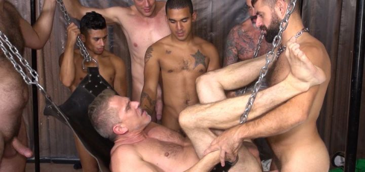 Sam Dixon - Piss Gang Bang: Part 1 9