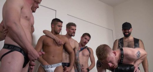 Blond Gay Pissing Slut 8