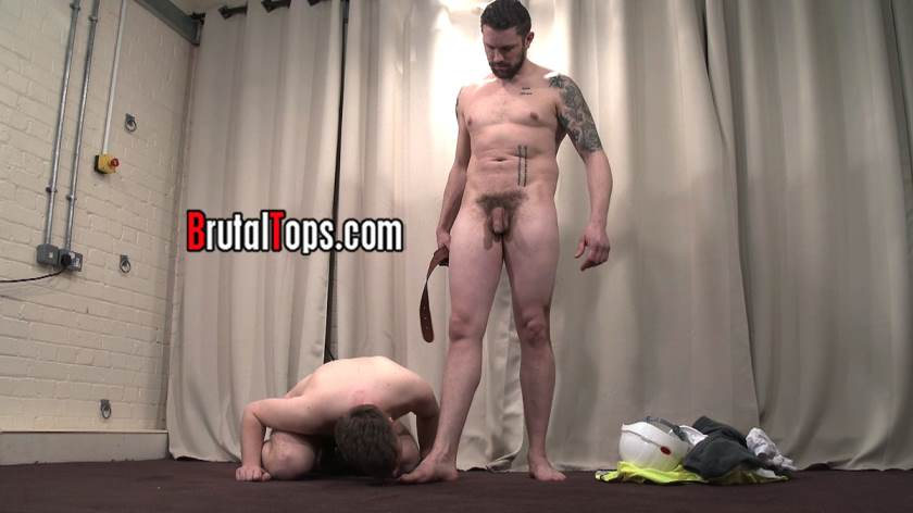 Master Terry Is Pissing In His Mouth