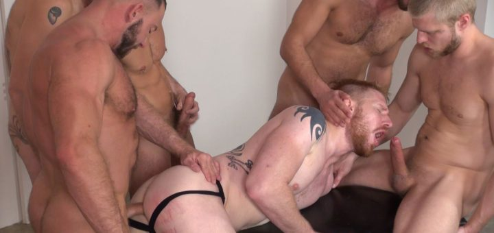Devan's Pissing Orgy 4