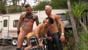 Dolf Dietrich, Silver Steele and Armond Rizzo - Piss And Fuck 6